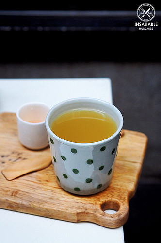 Sydney Food Blog Review of Cafe Cre Asion, Surry Hills: Yuzu Honey Tea | by insatiablemunch