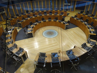 Legislative chambers Wales Parliment Senedd | by amanderson2