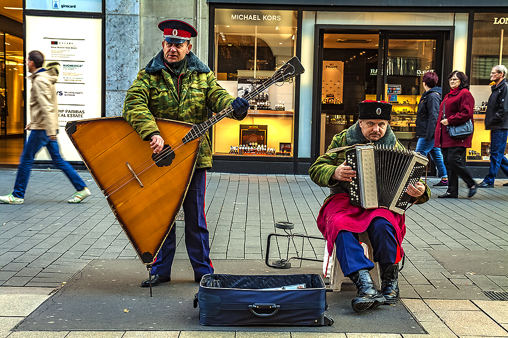 Russian musicians--Leipzig