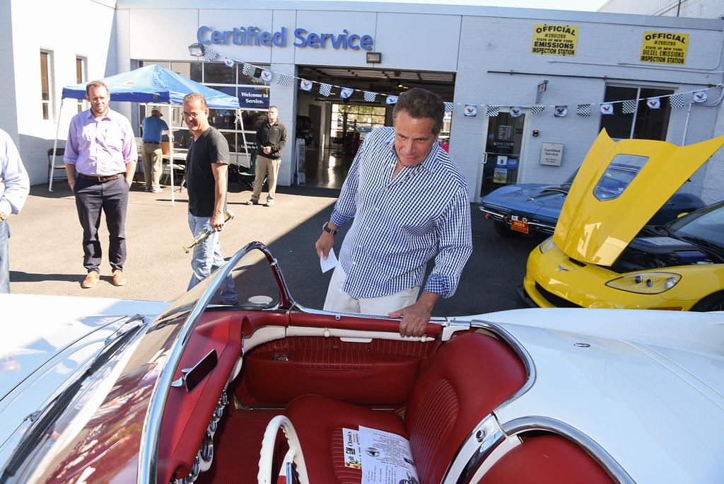 Governor Cuomo Attends Westchester Corvette Club Special I Flickr - Arroway chevrolet car show