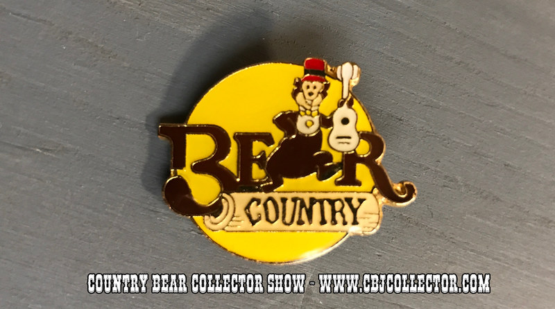 1985 Disneyland 30th Anniversary Bear Country Pin - Country Bear Jamboree Collector Show #071