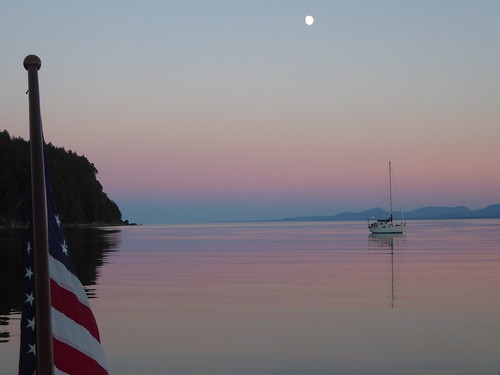 Tribune Bay Moon | by Sailing P & G