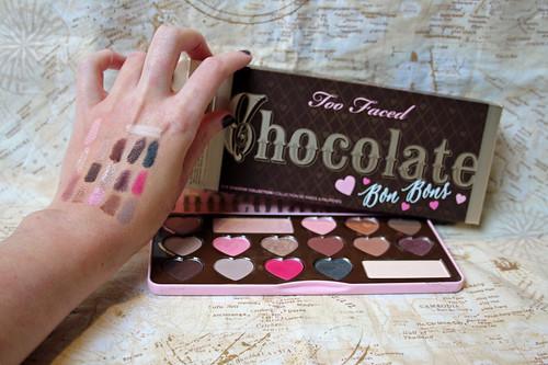 Too Faced Chocolate Bon Bons swatches