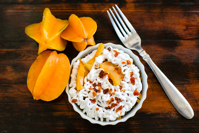 Star fruit Pie recipe from the kitchen of Blue Osa Yoga Retreat