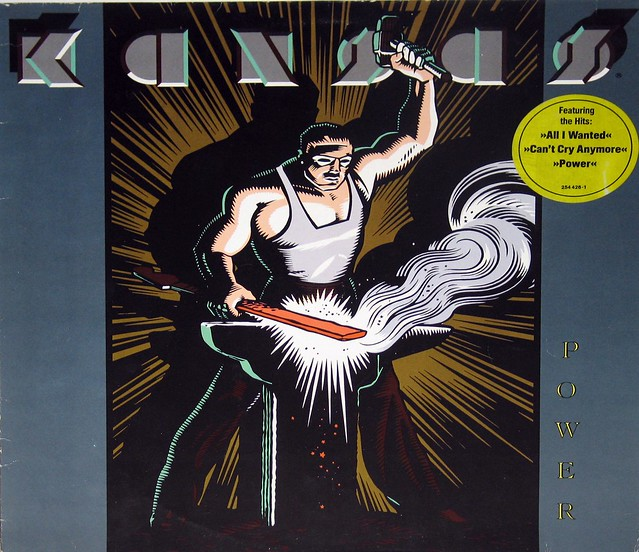 "Kansas Power 12"" vinyl LP"
