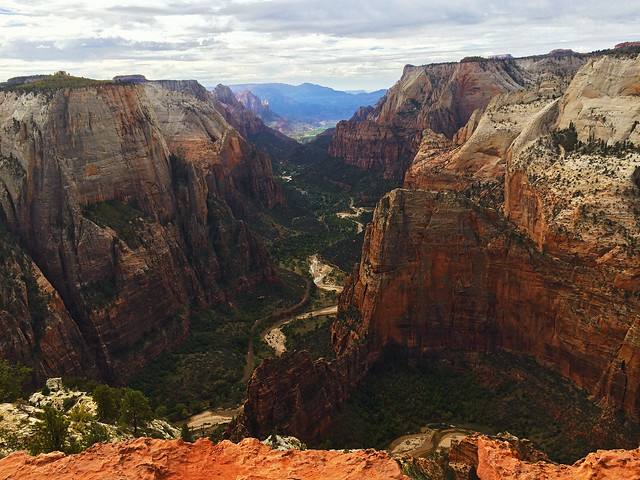 Observation Point, Zion National Park, Utah, USA