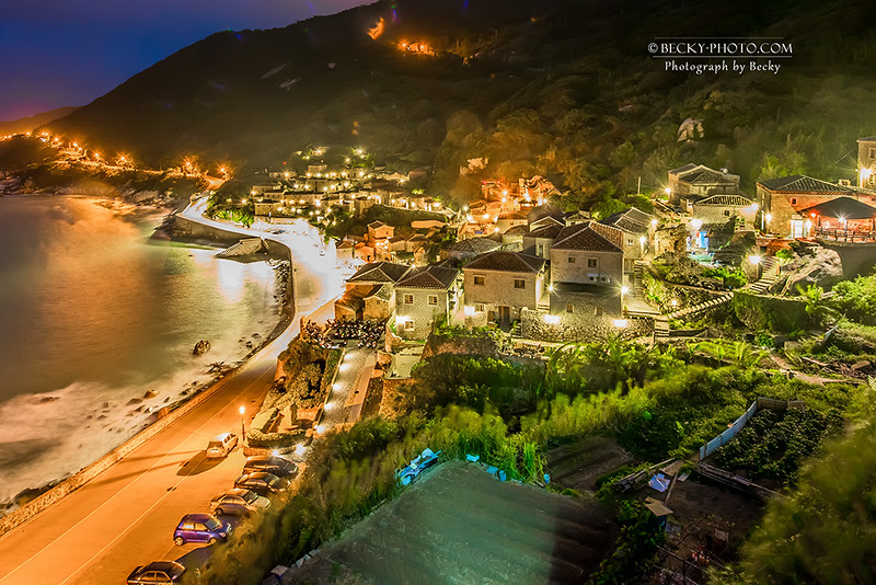 2016.Oct night @Qinbi Village 馬祖北竿芹壁村夜晚攝影