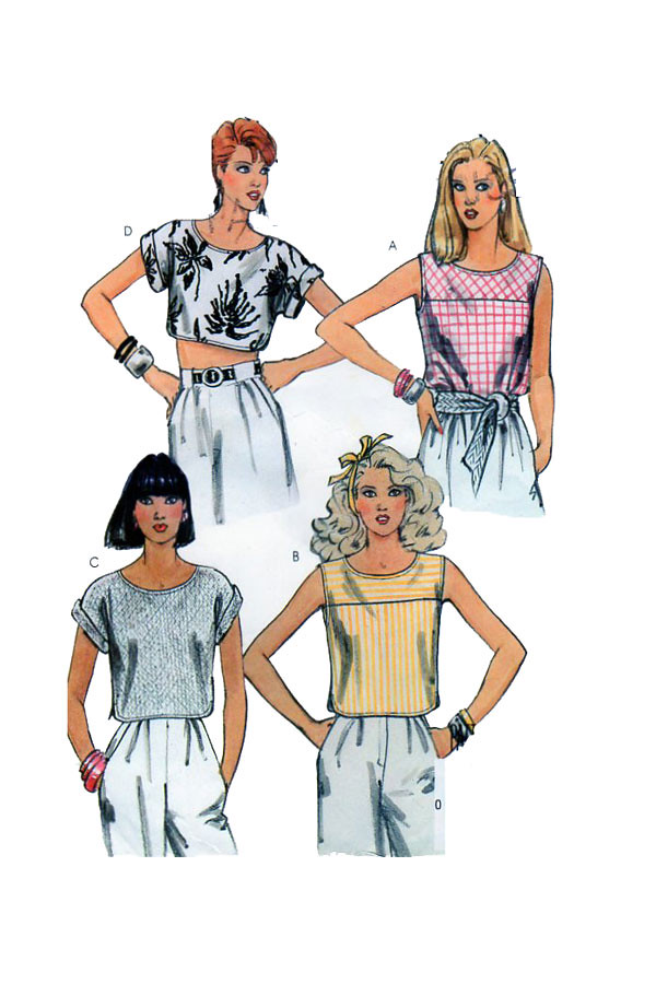 Mccalls 9534 Women Top Sewing Pattern Womens Top Sewing P Flickr