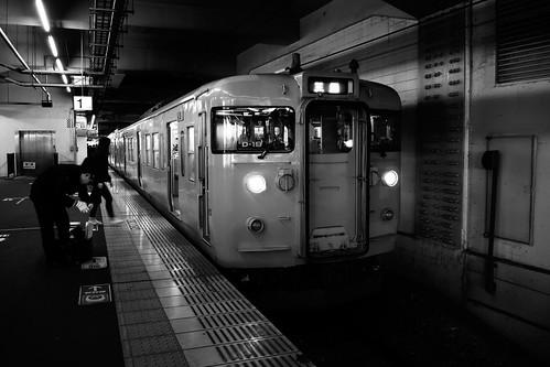 Okayama Station on NOV 22, 2016 (1)