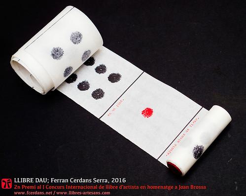El Llibre Dau desplegat; Ferran Cerdans Serra, 2016