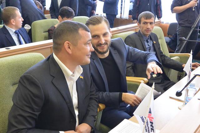 Олександр Васильєв, Олександр Ширяєв таАндрій Сайчук