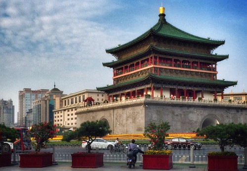 Xi'an, Shaanxi: Bell Tower | by adventurocity
