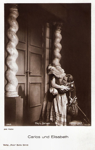 Dagny Servaes and Conrad Veidt in Carlos und Elisabeth (1924)