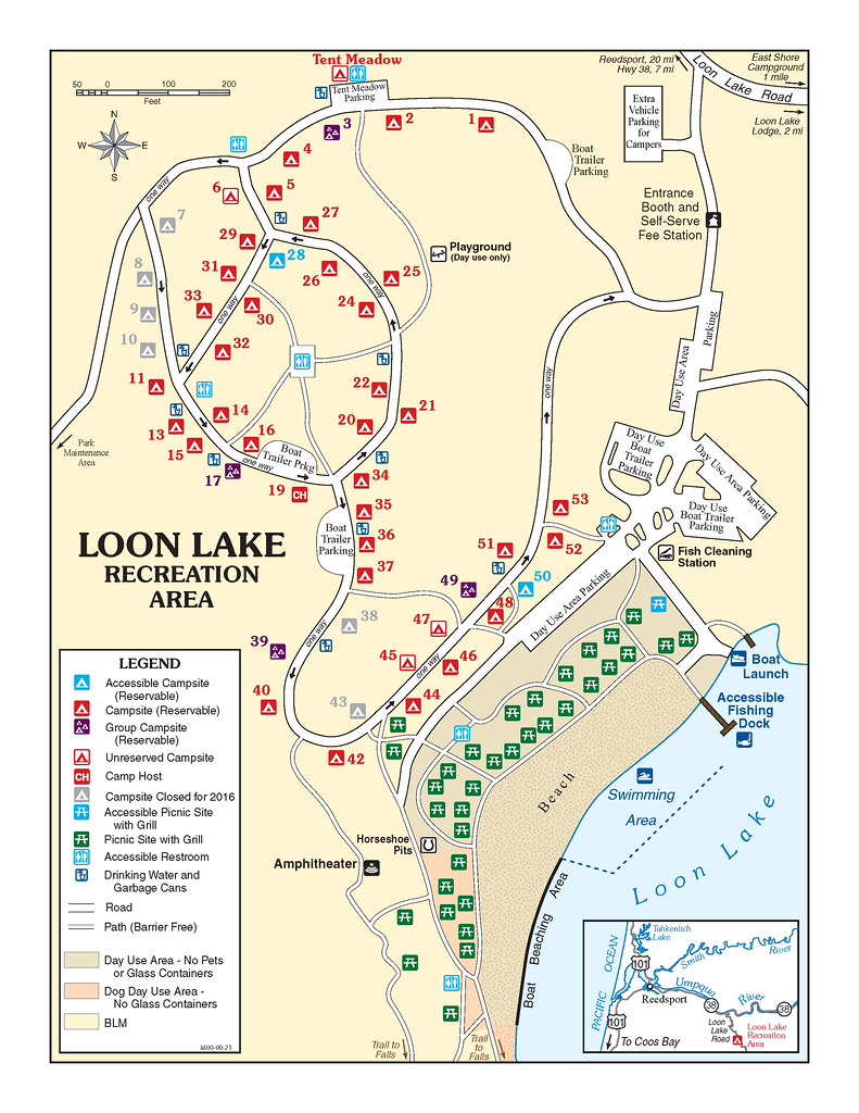 Loon Lake Recreation Area Loon Lake is a popular recreatio Flickr