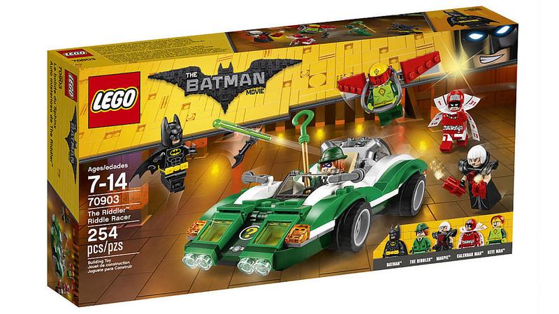 LEGO Batman Movie - The Riddler Riddle Racer (70903)