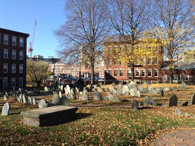 Бостон, кладбище