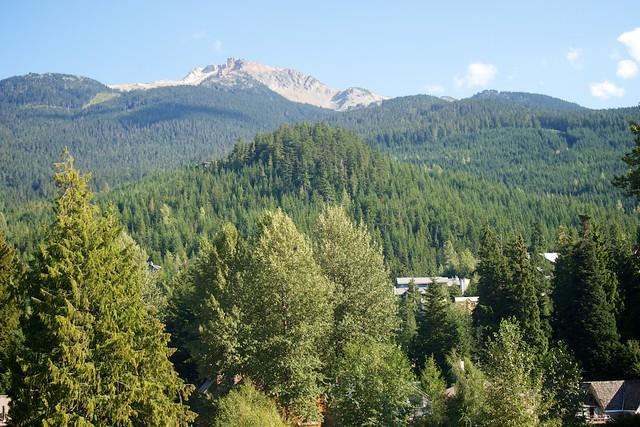 View of Whistler Bowl from Nita Lake