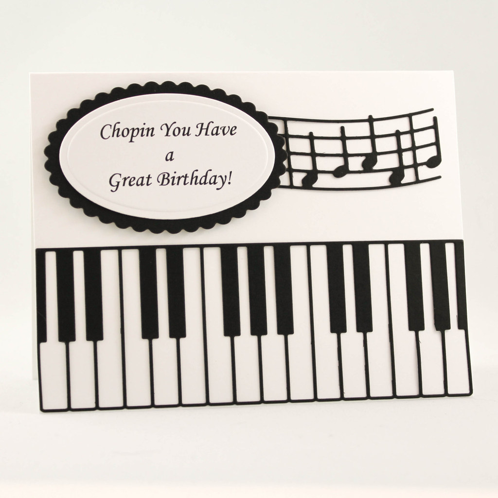 Handmade birthday card happy birthday card music teach flickr handmade birthday card happy birthday card music teacher card musical birthday card bookmarktalkfo Images