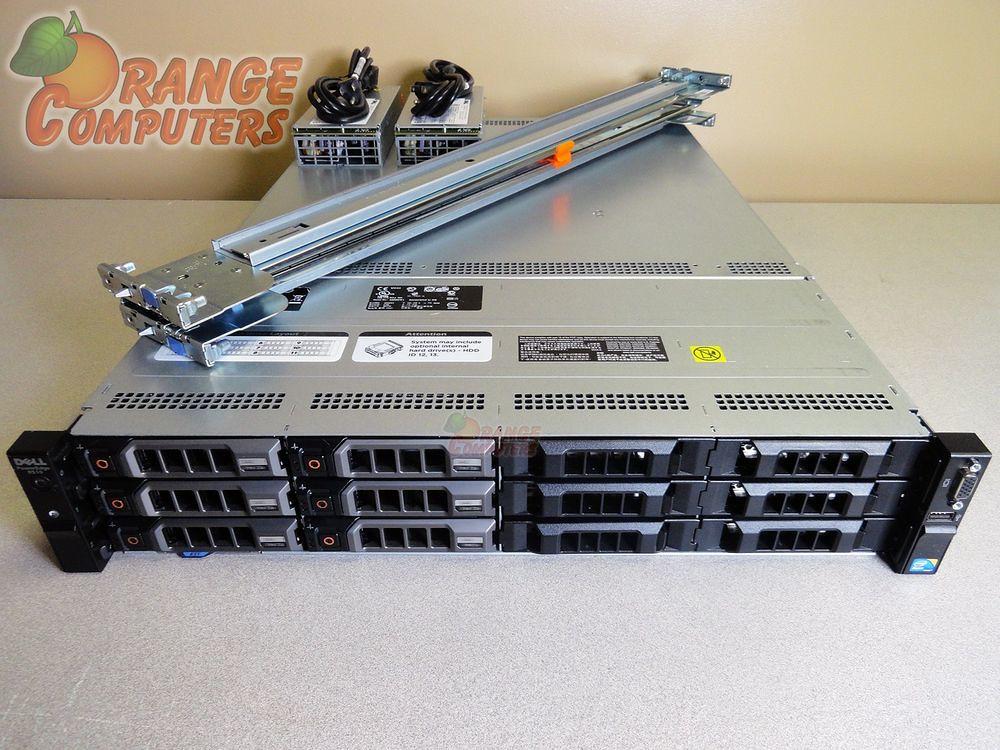 Dell PowerEdge R510 Server Dual Xeon X5660 6C 2 80GHz 128G