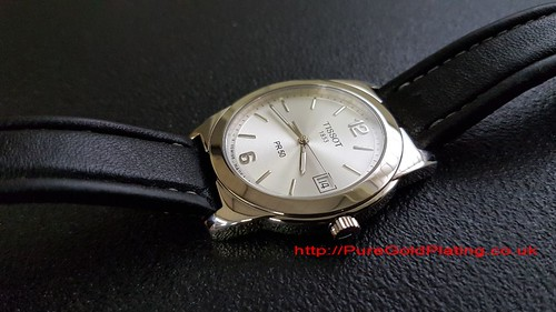 Platinum Plated Tissot Watch | by PureGoldPlating