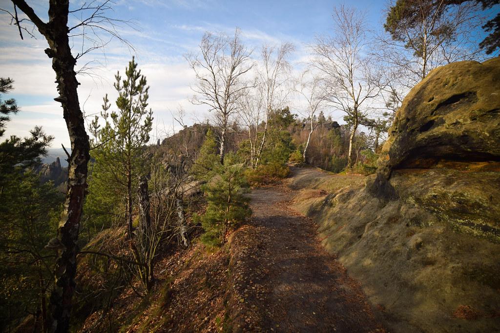 Domstiege und Schrammsteingratweg