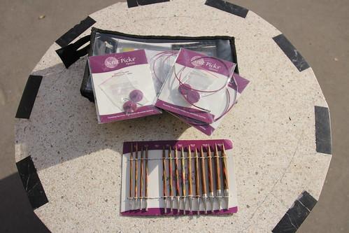 Le kit d'aiguilles circulaires Knit Picks / Knit Pro, 8 ans après