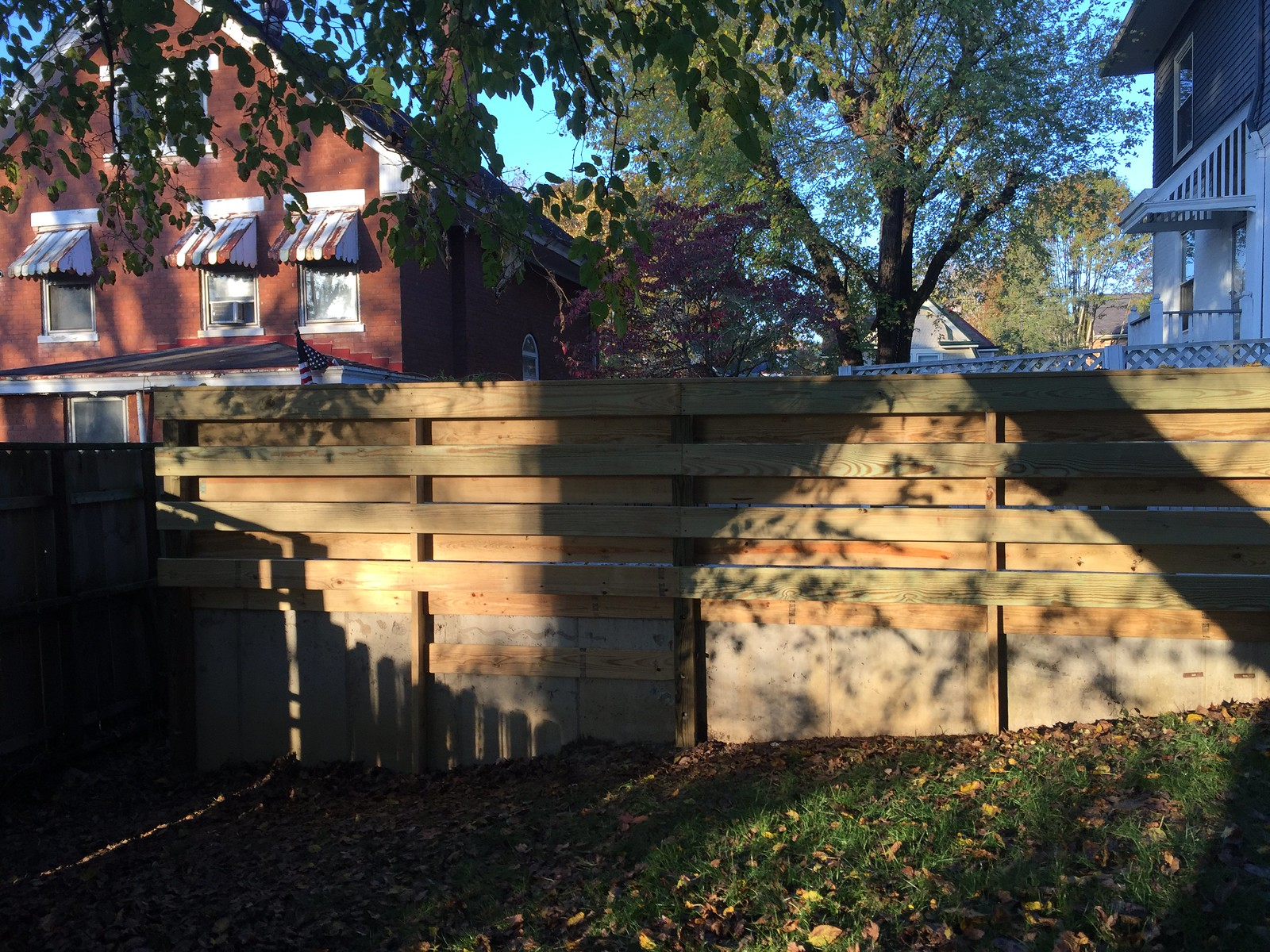 Backyard Fence/Deck Progress