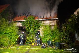 Scheunenbrand Mörfelden-Walldorf 11.11.16