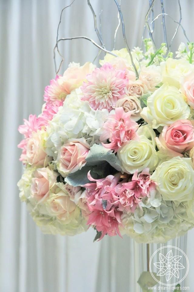 White pink flowers tall wedding centerpiece white pink ros flickr white pink flowers tall wedding centerpiece white pink mightylinksfo