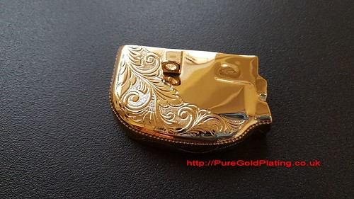 Gold Scooter Cap | by PureGoldPlating