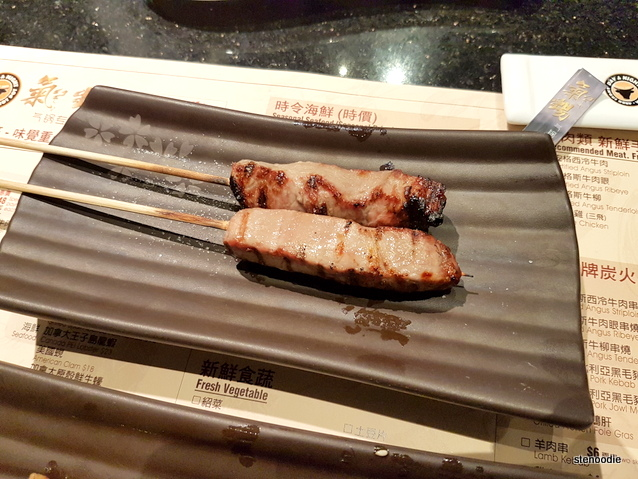 Grilled U.S. Certified Angus Beef Kebab