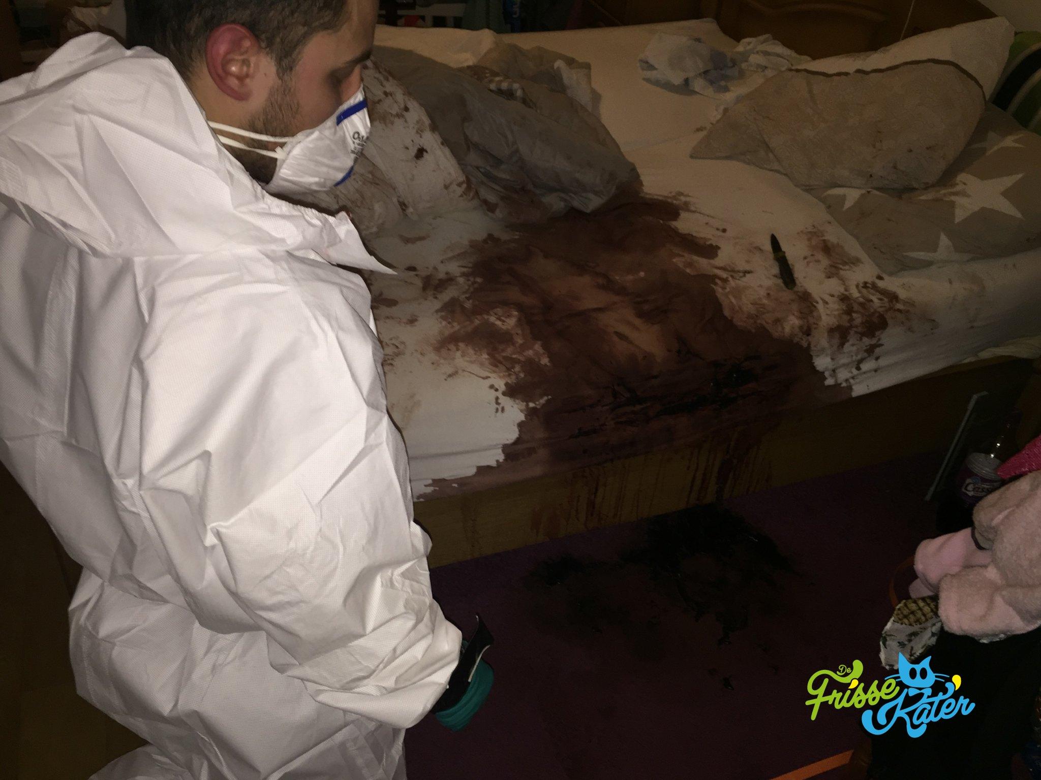 Bebloed matras