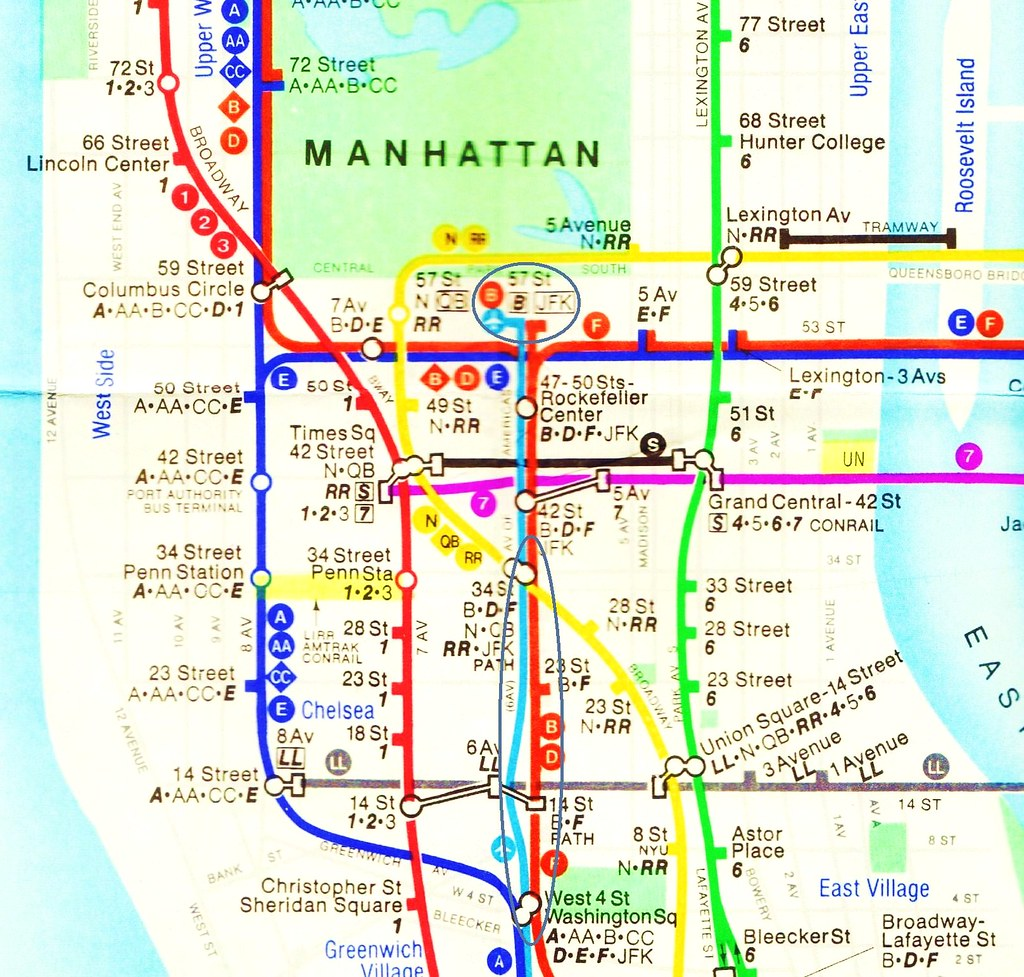 Golden Age of Stagflation   New York Subway Map 1979   The… | Flickr
