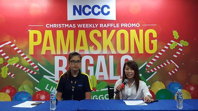 NCCC's Pamaskong Regalo, Linggo-linggo Christmas Raffle Promo Year 2 - DavaoLife.com