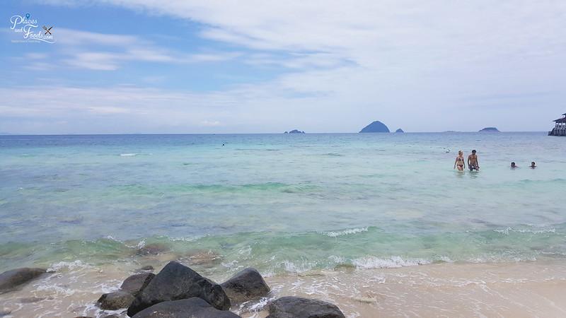 perhentian island coral beach
