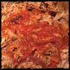 #PuertoRican #PulledPork #KamadoJoe #BBQ #homemade #CucinaDelloZio - add about 1c of tomato dropping sauce