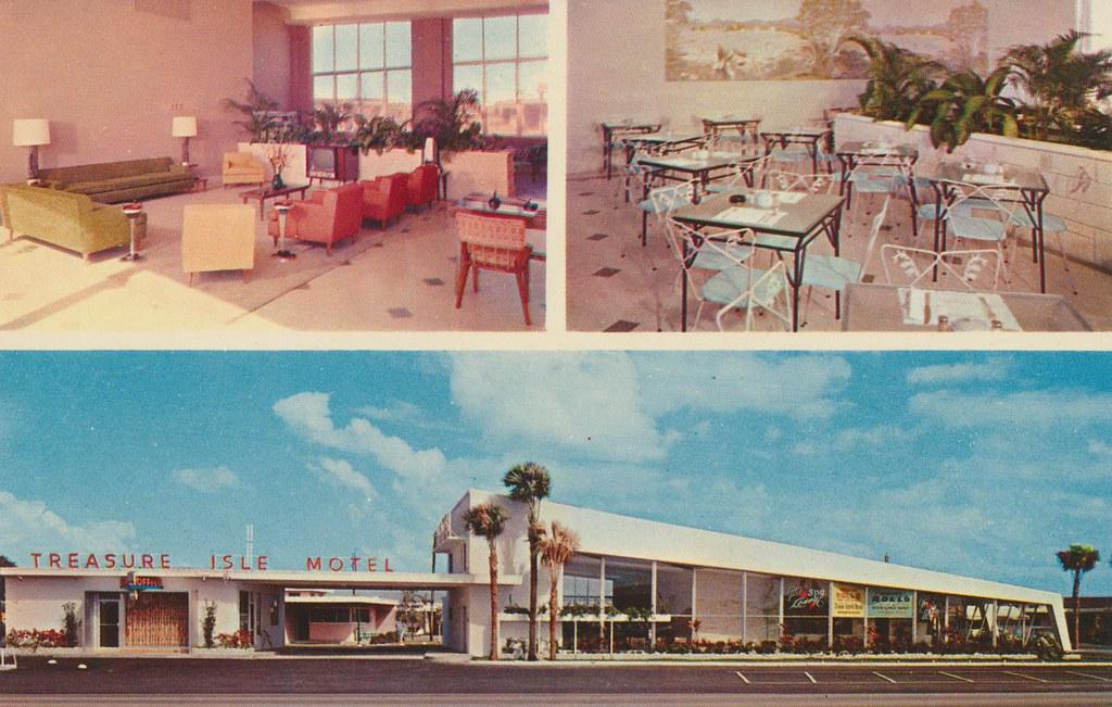 Treasure Isle Motel - Miami Beach, Florida