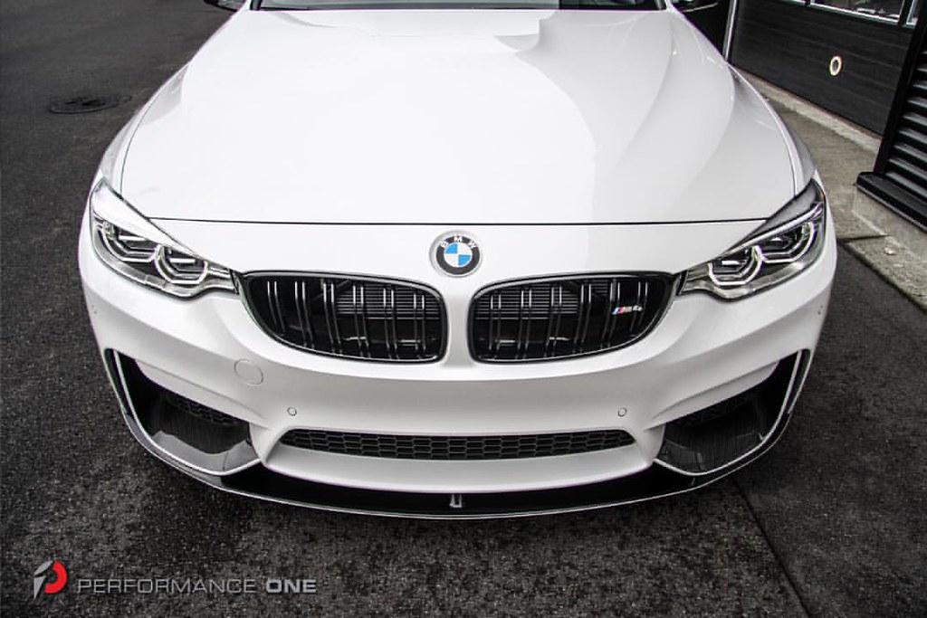 bmw m performance carbon fiber splitters lower front lip flickr