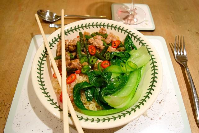 Stir-Fried Char Siu Pork Mince from the Marley Spoon Meal Box | www.rachelphipps.com @rachelphipps