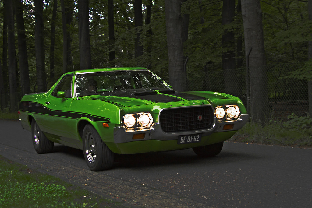Ford Ranchero Gt   By Le Photiste