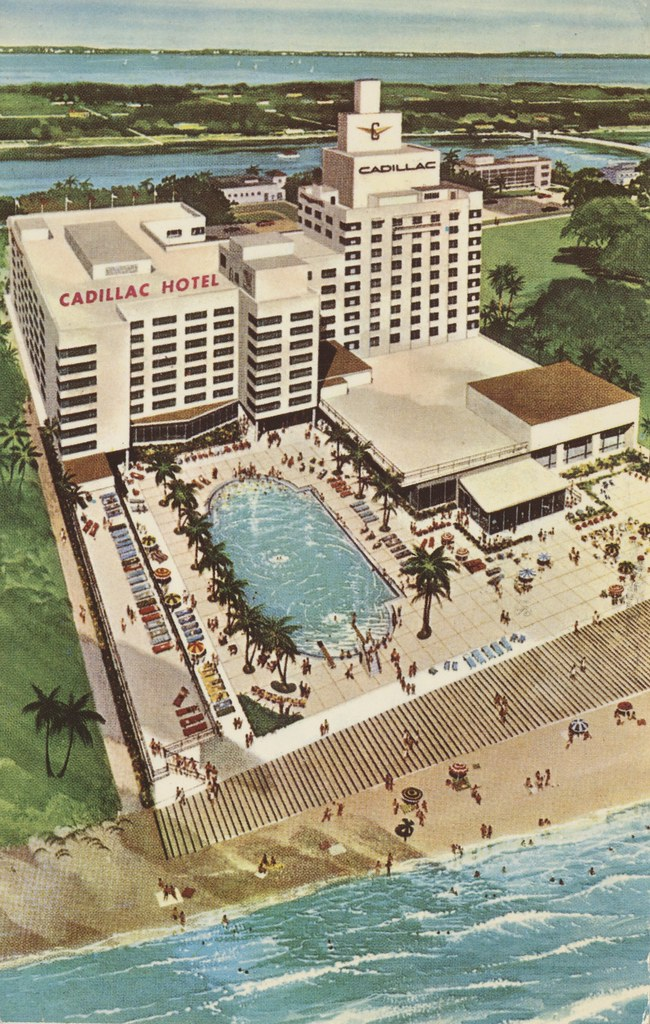 The Cadillac Hotel - Miami Beach, Florida
