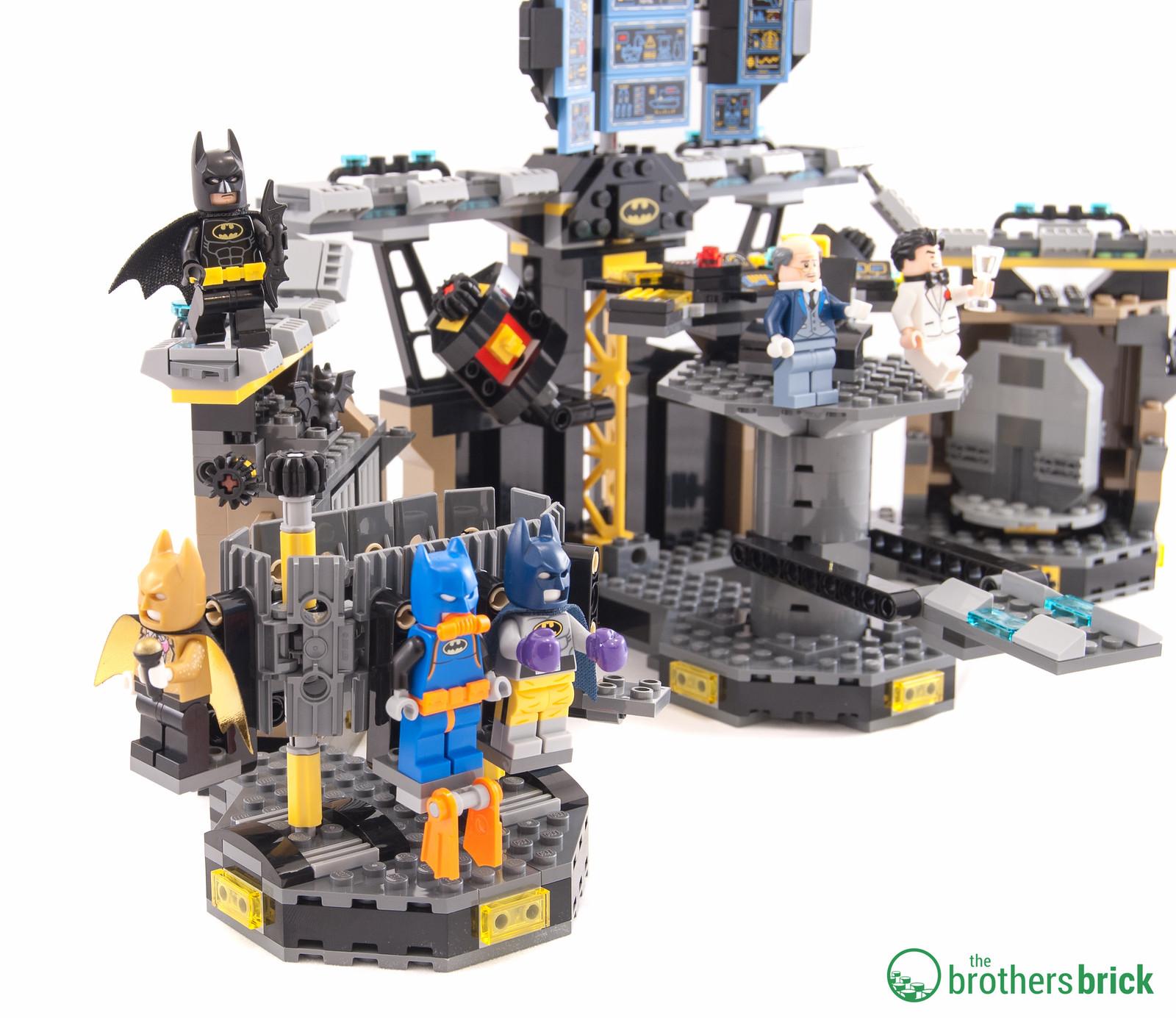 lego batcave instructions 70909