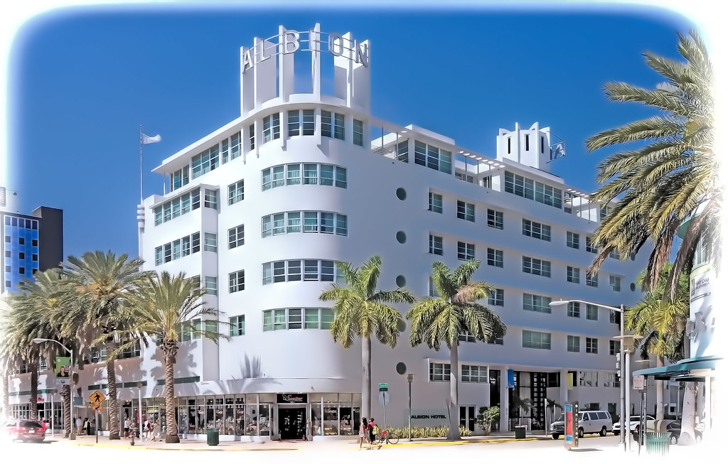 Albion Hotel South Beach  James Ave Miami Beach Florida U S A