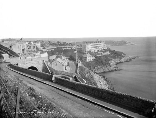 Sorrento Terrace, Dalkey [and Dalkey Island] | by National Library of Ireland on The Commons