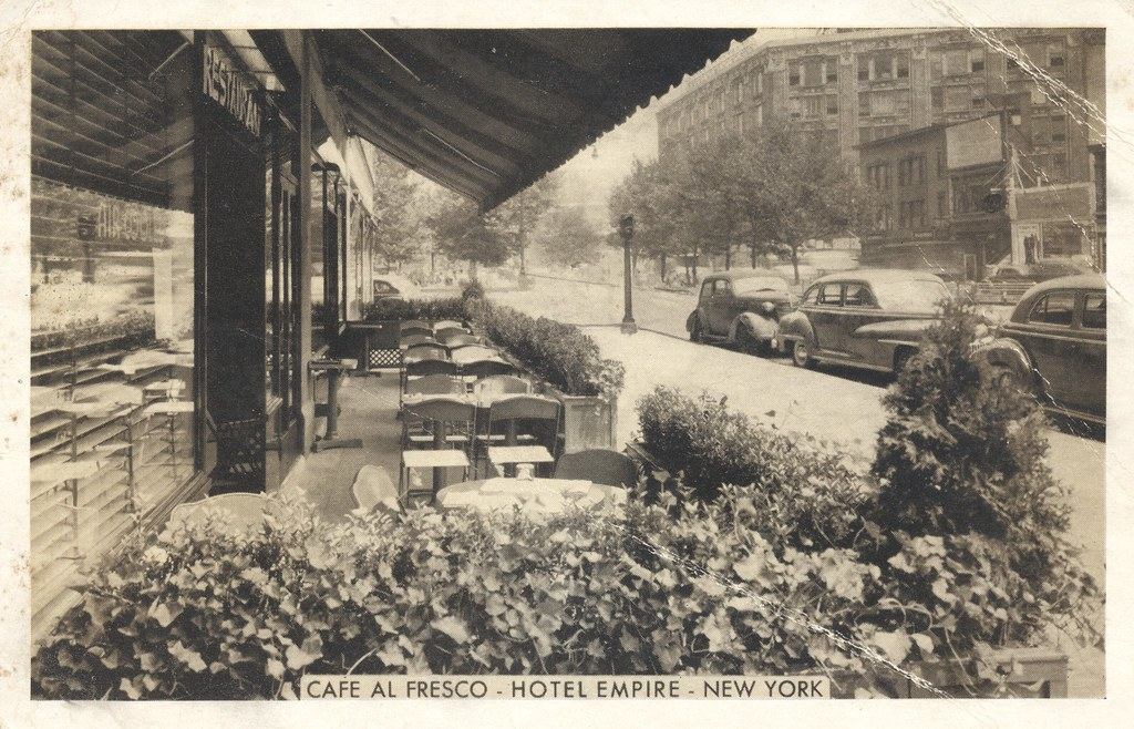 Hotel Empire Cafe Al Fresco - New York, New York