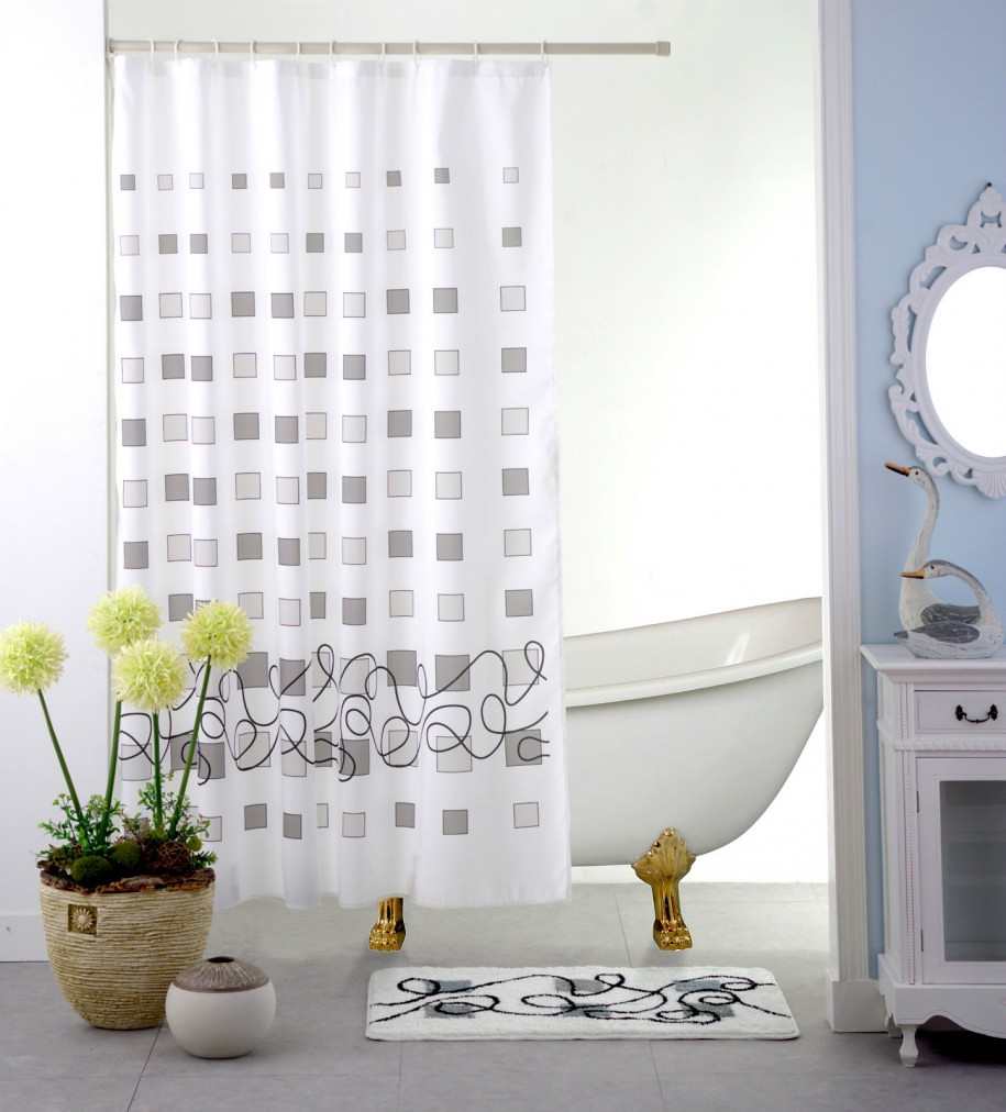 Contemporary Shower Curtains