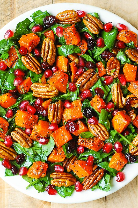 autumn salad, fall salad, winter salad, best salad recipes, holiday recipes