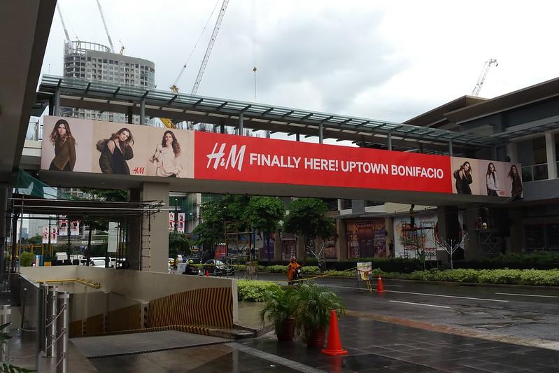 H&M Uptown Bonifacio