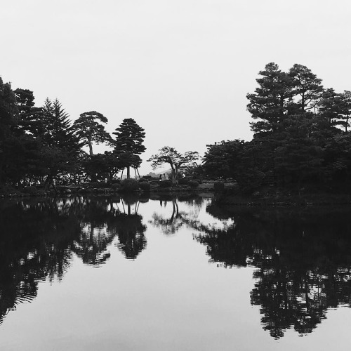 Still. #kenrokuen #japanesegarden #reflection... | by tiinateaspoon