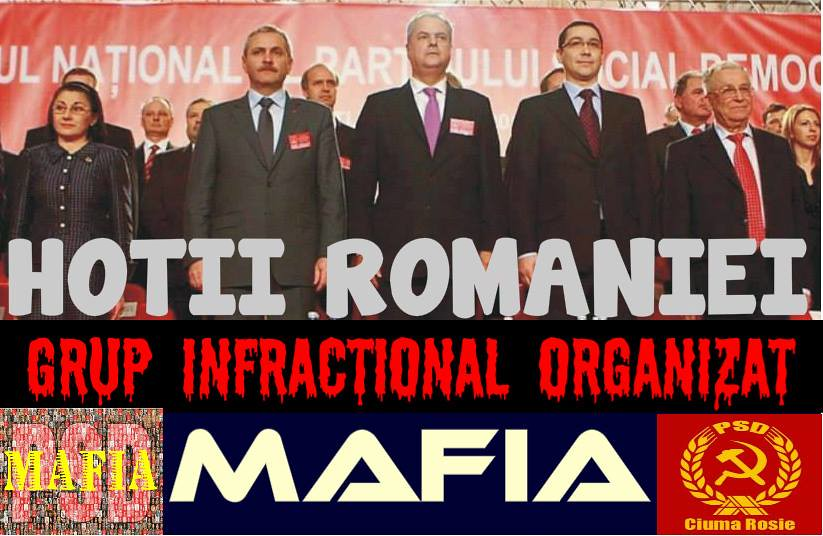 Cui ar trebui sa multumeasca mafia PSD-ista pentru ocazia oferita de a confisca Romania